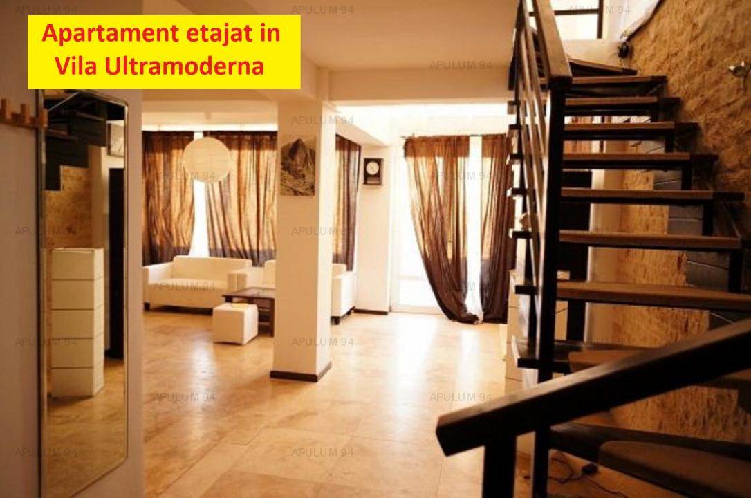 Apartament Cochet Etajat UltraSpatios in Vila UltraModerna in Buftea