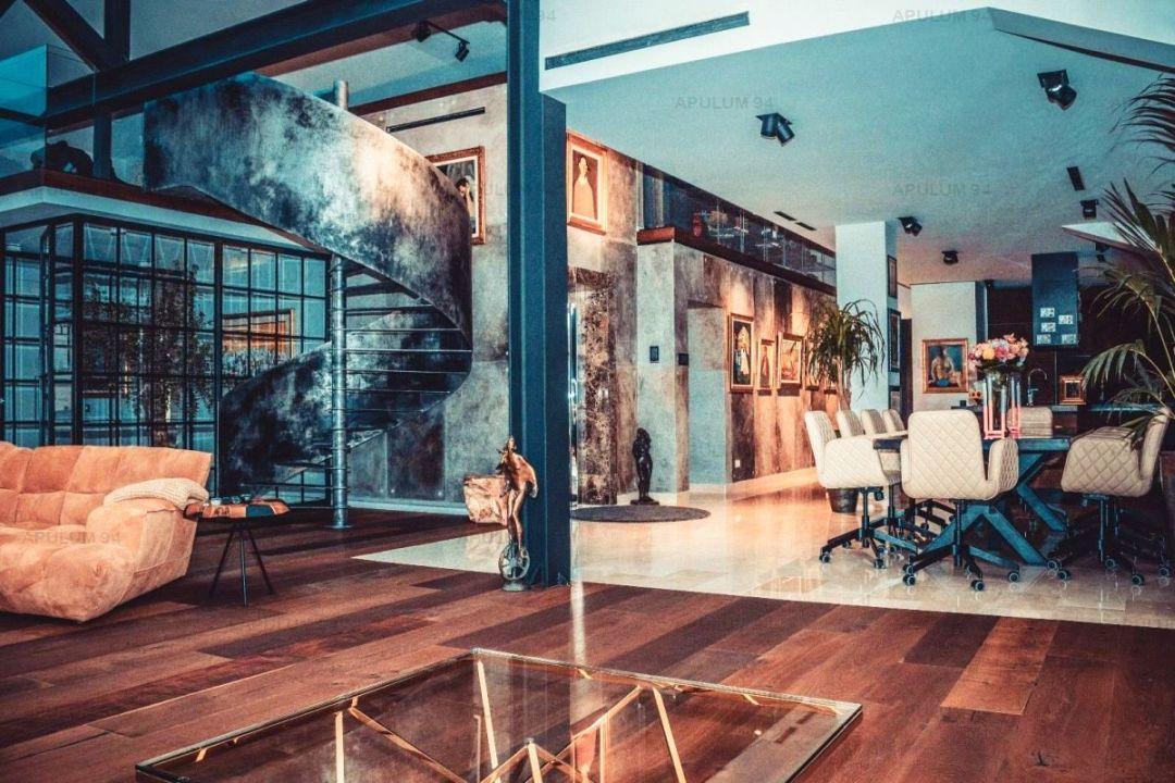 Penthouse | Spectaculos  |  Art Deco-Industrial  |  Pipera - Iancu Nicolae