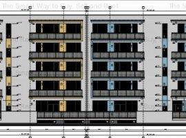 Apartament 2 camera  57 mp in Borhanci