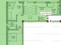 Apartament 3 camere terasa 51 mp Intre Lacuri