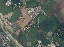 Vanzare teren intravilan, 41 ha, zona industriala, in Bucov