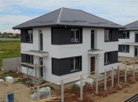 FARA COMISIOANE casa cu 4 camere si 3 bai P+1+pod 2 placi canal apa