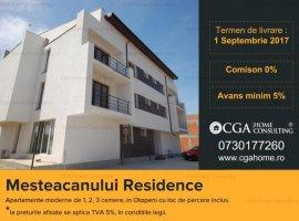 Apartament 2camere 64MPC, Mesteacanului, Otopeni, 0% COMISION CLIENT!