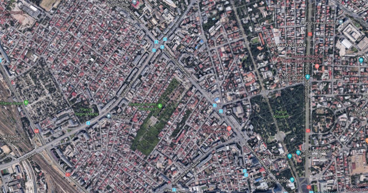 Teren zona 1 Mai (Turda)