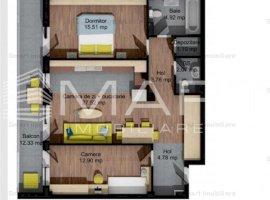 Apartamente 3 camere, zona Baciu, COMISION 0