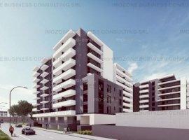 Militari Pacii, apartament 2 camere + terasa 10 mp, decomandat, bucatarie 10 mp