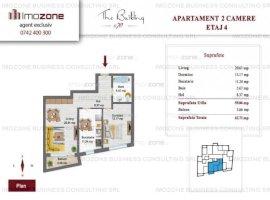 2 camere, decomandat, Lujerului - Plaza, la cheie, comision 0 % cumparator !
