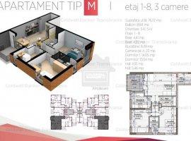 Vanzare  apartament  cu 3 camere  decomandat Cluj, Cluj-Napoca  - 112280 EURO