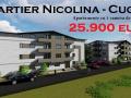 Nicolina - Cug, 1 c decomandat 25.900 euro, bloc nou