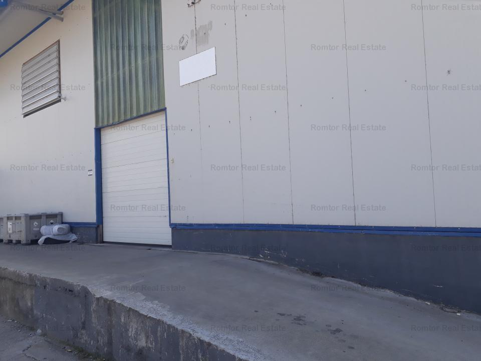 Spatiu depozitare si birouri zona Vest Bdul Timisoara - Valea Cascadelor