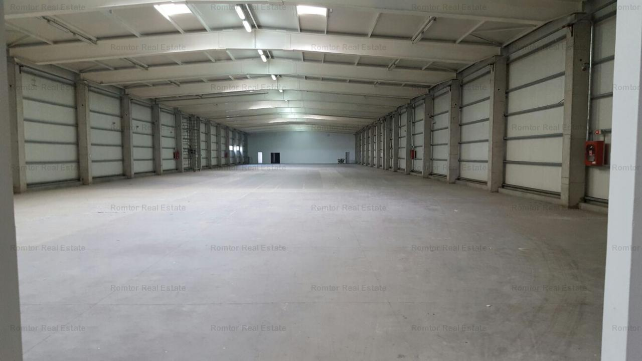 West Area - A1 Carrefour Militari storage hall, production and/or storage