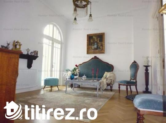 Floreasca apartament 3 camere parter vila- vanzare