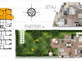 SE VINDE DUPLEX  P+1 SISESTI 2015 + (curte privata 200 mp)