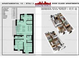 SE VINDE Apartament 3 camere Parcul Carol BLOC NOU