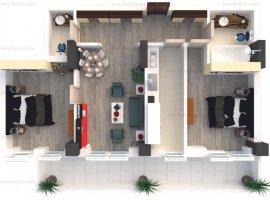 Apartament 3 camere - Zona Timpuri Noi - Langa Metrou - Comision 0