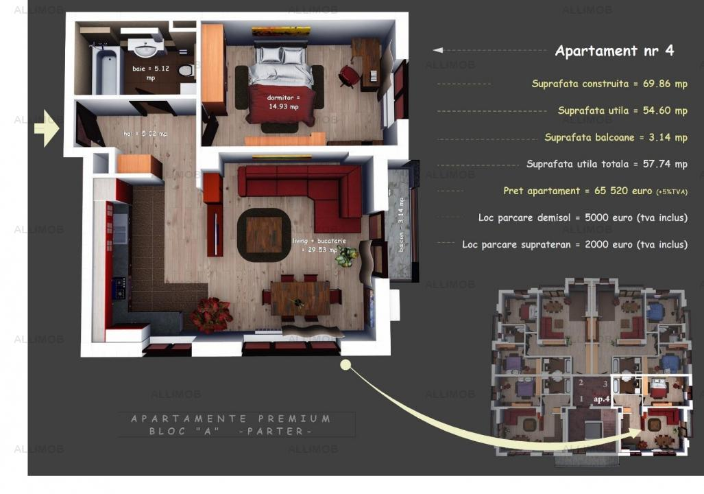 2 bedrooms, luxurious construction, in 2020, ACC, residential