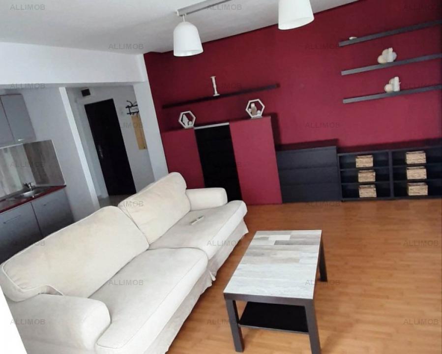 Double studio apartment in Ploiesti, downtown area