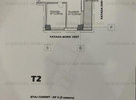 Danubius Residence, bloc nou, finisaje ultramoderne, 57 mp, etaj 5