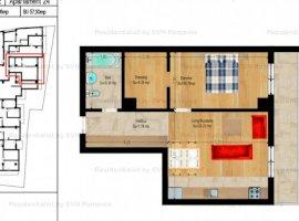 Vanzare  apartament  cu 2 camere  semidecomandat Bucuresti, Calea Calarasilor  - 99900 EURO
