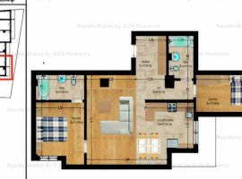 Vanzare  apartament  cu 3 camere  semidecomandat Bucuresti, Foisorul de Foc  - 139300 EURO