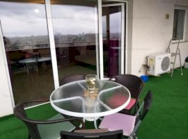 Apartament cu 2 camere spatios cu terasa generoasa la Podul Constanta