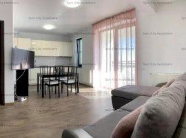 Apartament 2 camere superb,pe malul lacului,Baneasa-Sisesti,cu parcare subterana