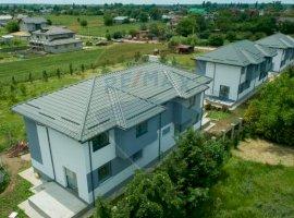 Duplex de vanzare la alb cu toate utilitatile in Ciorogarla