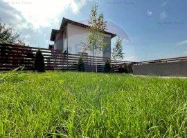 Vila la alb  4 camere, curte proprie 320 mp, 15 minute Bucuresti