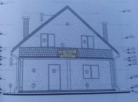 Casa nefinalizata + teren in Ciurea, in zona linistita, 20 min de Podu Ros