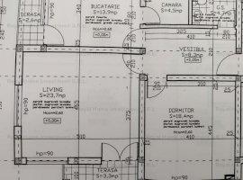 Nou   0 Comision   Apartament 2 Camere + Terasa + Curte privata/comuna