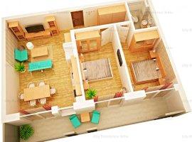Apartament 3 camere   Intabulat   Imobil 9   Central