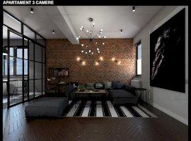 Apartament 3 camere nou strada Ozanei