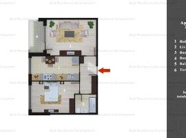 Merita vazut! Apartament 2 camere si curte interioara zona Pipepa