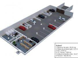 Apartament 3 camere decomandate gradina in Velvet Residence Turnisor