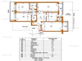 Vanzare apartament 4 camere, Centru, Bacau