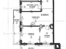 Apartament  2 camere ,parcare subterana si boxa .