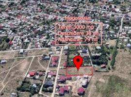 Teren 3000 MP deschidere 38ml cu Toate Utilitatile in Mogosoaia