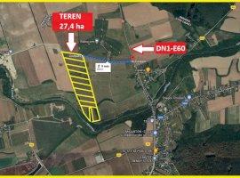Teren intravilan | 27,4 ha |  Ciolpani - Radiocom -DN1