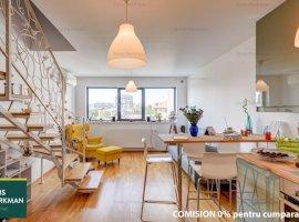 Apartament 2 camere, spatios, 2 bai, dressing, vedere panoramica – Popa Nan
