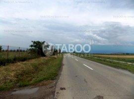 Teren extravilan de vanzare 10000 mp in Sura Mica judetul Sibiu