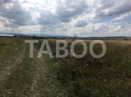 Teren extravilan 10000 mp pretabil investitie in Sibiu zona Sura Mica