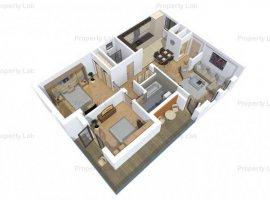 Apartament 3 camere, etajul 2, in Zona Romanilor