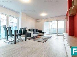 Apartament ultracentral, cu două camere, de închiriat. Arad Plaza.
