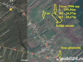 Vanzare  terenuri agricol  7889 mp Dambovita, Baldana  - 2 EURO
