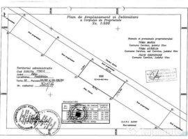 Vanzare  terenuri constructii  462 mp Ilfov, Cernica  - 23000 EURO
