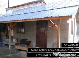 Vanzare  casa  2 camere Prahova, Telega  - 10500 EURO
