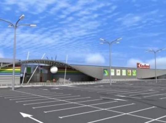 Mall in centrul orasului Oradea