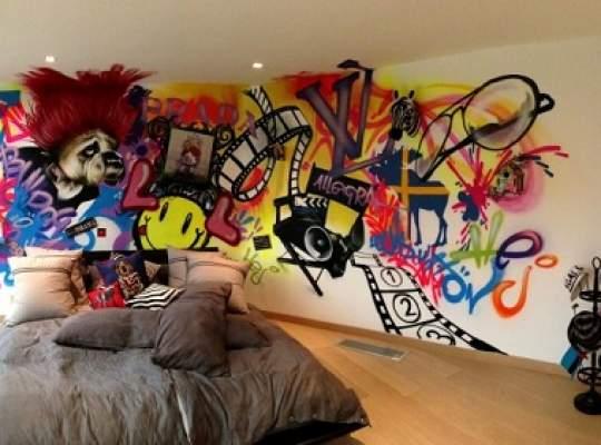 Cum să îţi decorezi casa cu... graffiti?