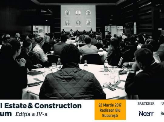 """BusinessMark: Conferința """"Real Estate & Construction Forum"""" își deschide porțile pe 22 martie în București"""