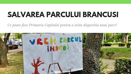Proteste in weekend pentru salvarea parcului Brancusi! Ce poate face Primaria pentru a rezolva situatia?